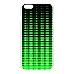 Neon Green Apple Seamless iPhone 6 Plus/6S Plus Case (Transparent)