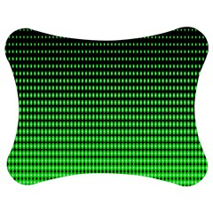 Neon Green Jigsaw Puzzle Photo Stand (Bow)