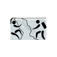 Mountaineering Climbing Pictogram  Cosmetic Bag (small)