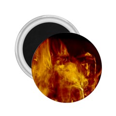 Ablaze Abstract Afire Aflame Blaze 2 25  Magnets