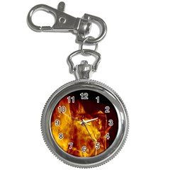 Ablaze Abstract Afire Aflame Blaze Key Chain Watches