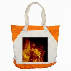 Ablaze Abstract Afire Aflame Blaze Accent Tote Bag