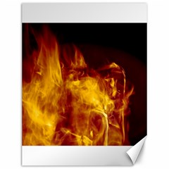 Ablaze Abstract Afire Aflame Blaze Canvas 12  X 16