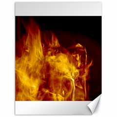 Ablaze Abstract Afire Aflame Blaze Canvas 18  X 24