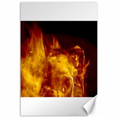 Ablaze Abstract Afire Aflame Blaze Canvas 20  X 30