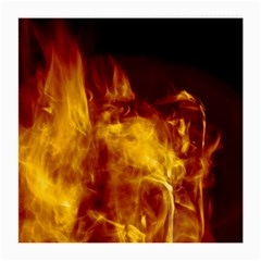 Ablaze Abstract Afire Aflame Blaze Medium Glasses Cloth (2 Side)