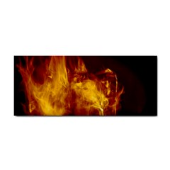 Ablaze Abstract Afire Aflame Blaze Cosmetic Storage Cases