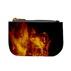 Ablaze Abstract Afire Aflame Blaze Mini Coin Purses
