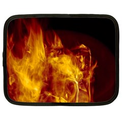 Ablaze Abstract Afire Aflame Blaze Netbook Case (xxl)