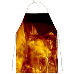 Ablaze Abstract Afire Aflame Blaze Full Print Aprons