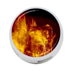 Ablaze Abstract Afire Aflame Blaze 4 Port Usb Hub (one Side)