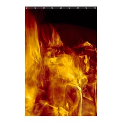 Ablaze Abstract Afire Aflame Blaze Shower Curtain 48  X 72  (small)