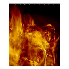 Ablaze Abstract Afire Aflame Blaze Shower Curtain 60  X 72  (medium)