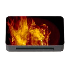 Ablaze Abstract Afire Aflame Blaze Memory Card Reader With Cf