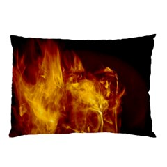 Ablaze Abstract Afire Aflame Blaze Pillow Case (two Sides)