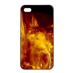 Ablaze Abstract Afire Aflame Blaze Apple Iphone 4/4s Seamless Case (black)