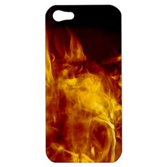 Ablaze Abstract Afire Aflame Blaze Apple iPhone 5 Hardshell Case