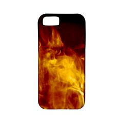 Ablaze Abstract Afire Aflame Blaze Apple Iphone 5 Classic Hardshell Case (pc+silicone)