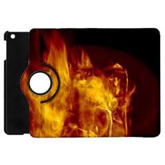 Ablaze Abstract Afire Aflame Blaze Apple Ipad Mini Flip 360 Case