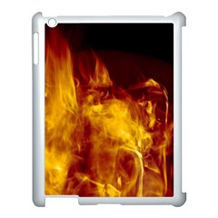 Ablaze Abstract Afire Aflame Blaze Apple Ipad 3/4 Case (white)