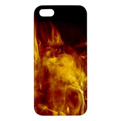 Ablaze Abstract Afire Aflame Blaze Apple Iphone 5 Premium Hardshell Case