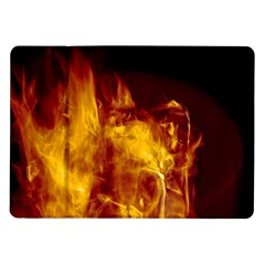 Ablaze Abstract Afire Aflame Blaze Samsung Galaxy Tab 10 1  P7500 Flip Case