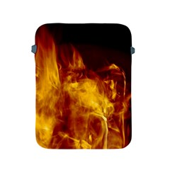 Ablaze Abstract Afire Aflame Blaze Apple Ipad 2/3/4 Protective Soft Cases