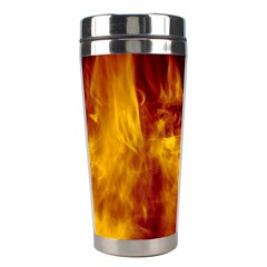Ablaze Abstract Afire Aflame Blaze Stainless Steel Travel Tumblers