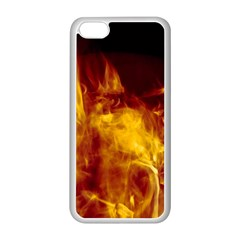 Ablaze Abstract Afire Aflame Blaze Apple Iphone 5c Seamless Case (white)