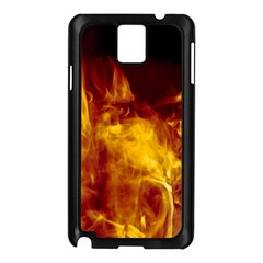 Ablaze Abstract Afire Aflame Blaze Samsung Galaxy Note 3 N9005 Case (black)