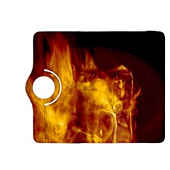 Ablaze Abstract Afire Aflame Blaze Kindle Fire Hdx 8 9  Flip 360 Case