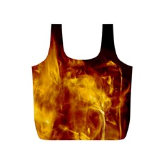 Ablaze Abstract Afire Aflame Blaze Full Print Recycle Bags (s)