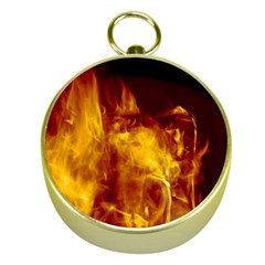 Ablaze Abstract Afire Aflame Blaze Gold Compasses