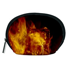 Ablaze Abstract Afire Aflame Blaze Accessory Pouches (medium)