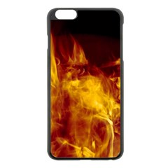 Ablaze Abstract Afire Aflame Blaze Apple Iphone 6 Plus/6s Plus Black Enamel Case