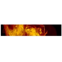 Ablaze Abstract Afire Aflame Blaze Flano Scarf (large)
