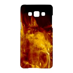 Ablaze Abstract Afire Aflame Blaze Samsung Galaxy A5 Hardshell Case