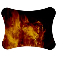 Ablaze Abstract Afire Aflame Blaze Jigsaw Puzzle Photo Stand (bow)