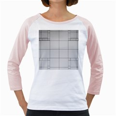 Abstract Architecture Contemporary Girly Raglans