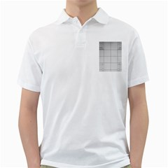 Abstract Architecture Contemporary Golf Shirts