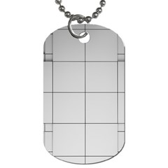 Abstract Architecture Contemporary Dog Tag (two Sides)