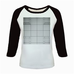 Abstract Architecture Contemporary Kids Baseball Jerseys