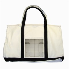 Abstract Architecture Contemporary Two Tone Tote Bag