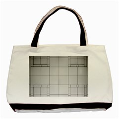 Abstract Architecture Contemporary Basic Tote Bag (two Sides)