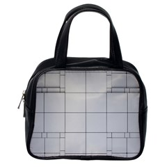 Abstract Architecture Contemporary Classic Handbags (one Side)