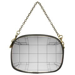 Abstract Architecture Contemporary Chain Purses (one Side)