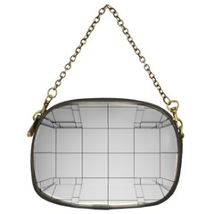 Abstract Architecture Contemporary Chain Purses (two Sides)