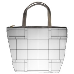 Abstract Architecture Contemporary Bucket Bags