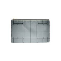 Abstract Architecture Contemporary Cosmetic Bag (small)