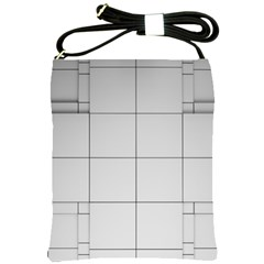 Abstract Architecture Contemporary Shoulder Sling Bags
